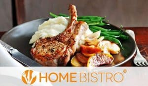 Chicken meal from Home Bistro