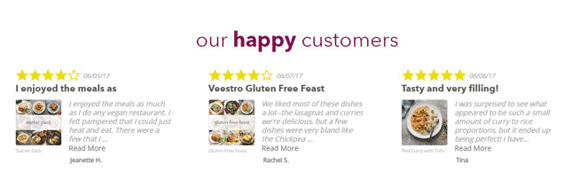 veestro customers