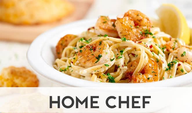 Chicken pasta from Home Chef