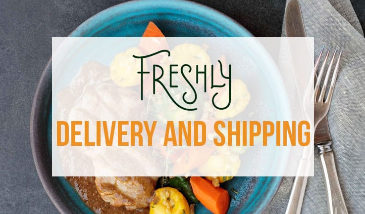 Delivery and Shipping in Freshly