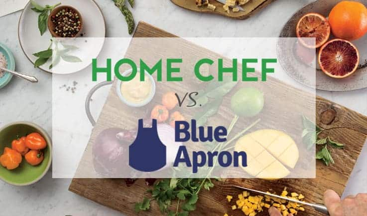 Similarities of Home Chef and Blue Apron