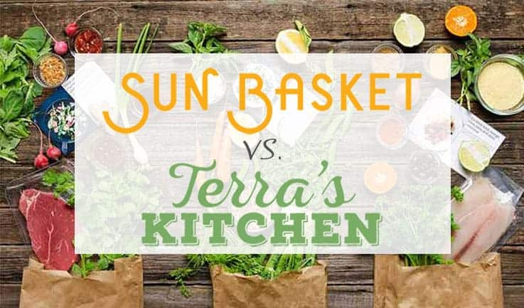 Our Comparison Of Sun-Basket and Terra's Kitchen