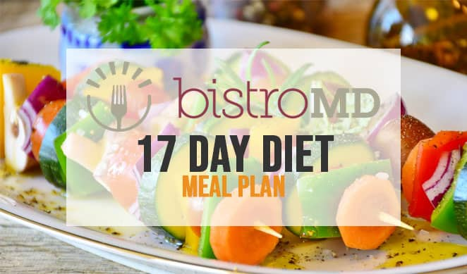 BistroMD lose weight meal plan in 17 days