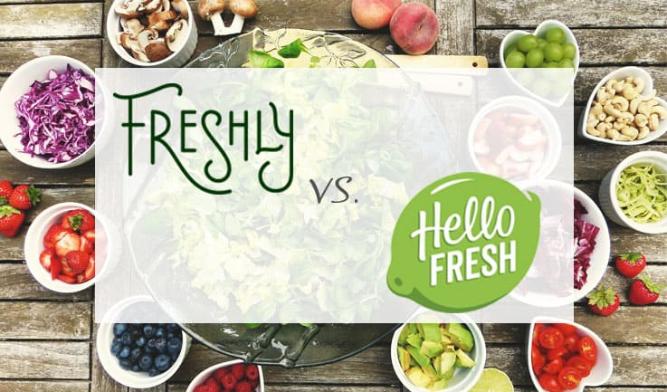 Comparison between Freshly and Hello Fresh