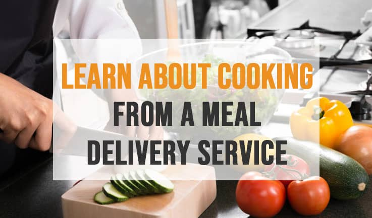Cooking tips from a meal to-go company