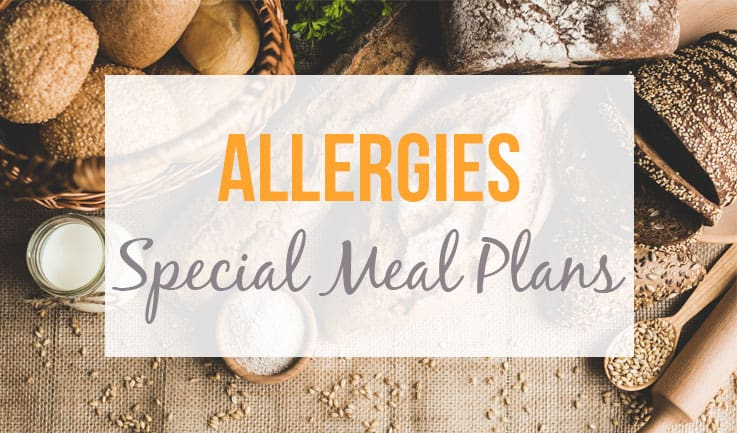 Meals for allergy-prone