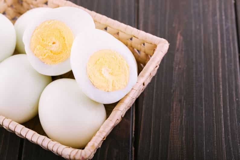 Image of boiled eggs