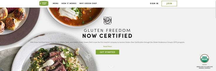 Green chef site