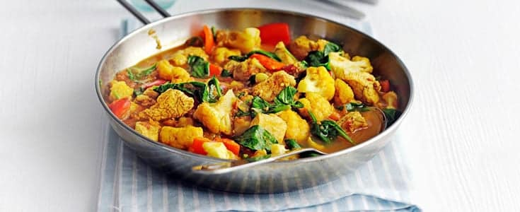 image of Healthier Chicken Balti