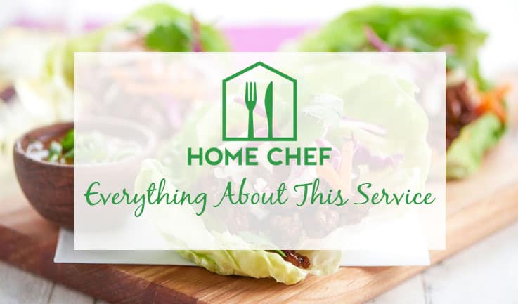 Services offered by Home Chef