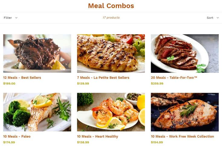 image of Meal combos