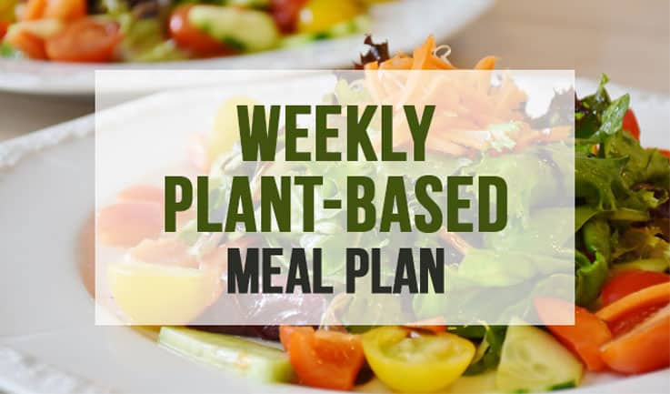 Weekly Plant-Based Meal Plan Featured Image