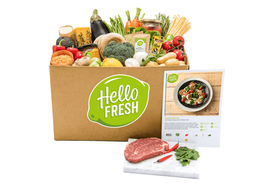 What's inside Hello Fresh box?