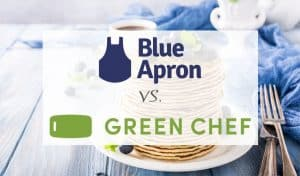 Comparison between Blue Apron and Green Chef