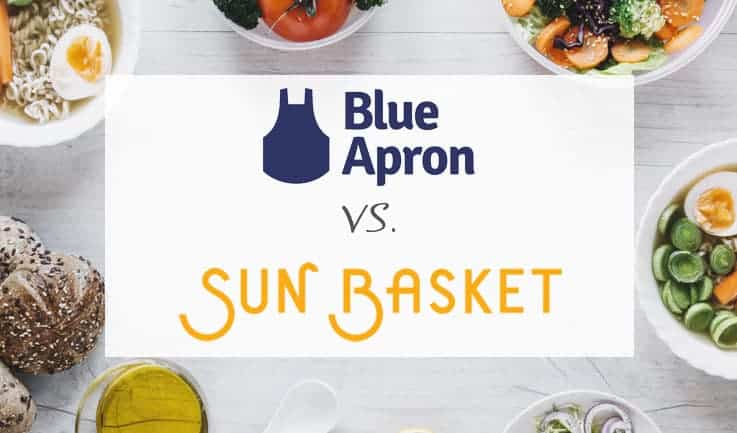 Comparison between Blue Apron and Sun Basket