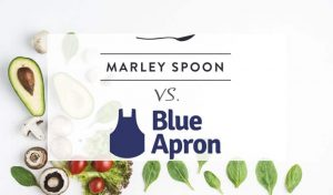 Comparison between Marley Spoon and Blue Apron