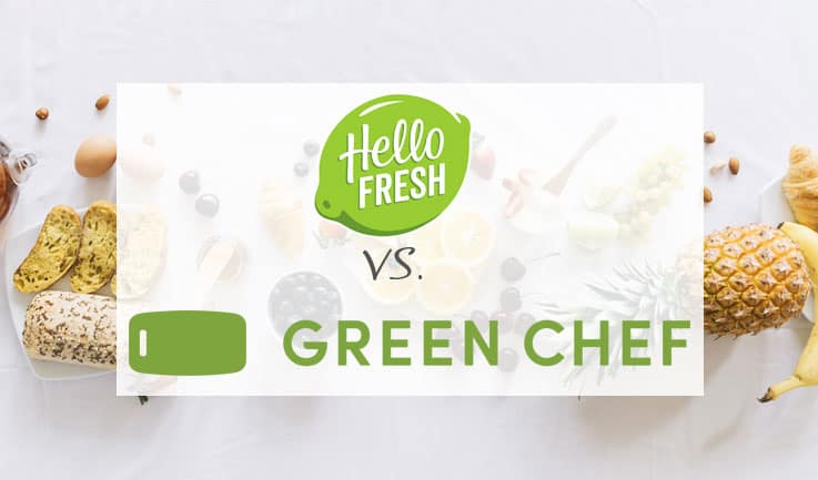Hello Fresh vs Green Chef