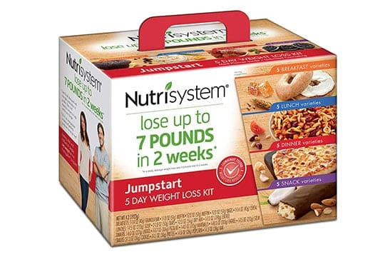 Box of Nutrisystem Products