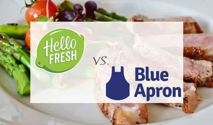 Detailed Comparison Of Blue Apron and Hello Fresh Meal Delivery Services