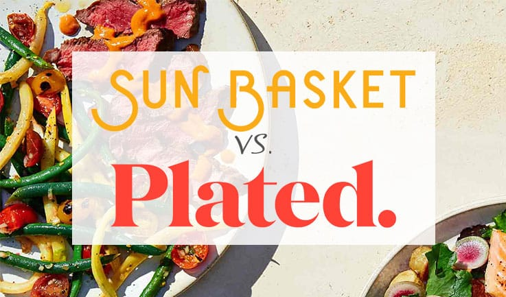 Full Comparison of Sun Basket and Plated Meal Delivery Services