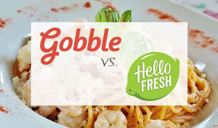 In-depth Comparison of Gobble and Hello Fresh