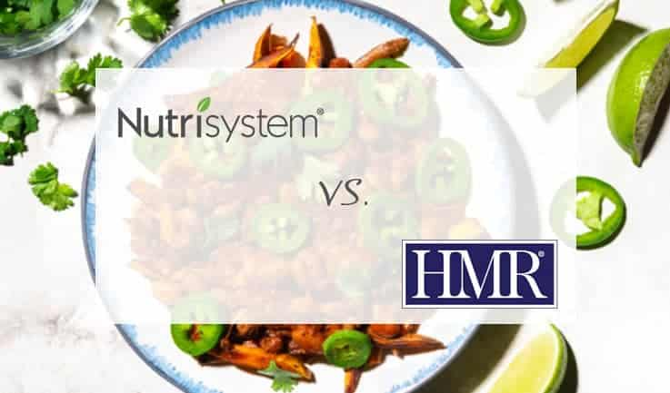 Nutrisystem and HMR compared