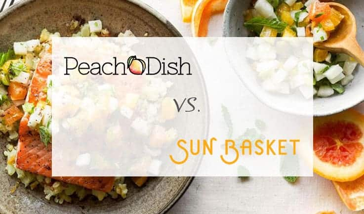 PeachDish and Sun Basket Full Comparison