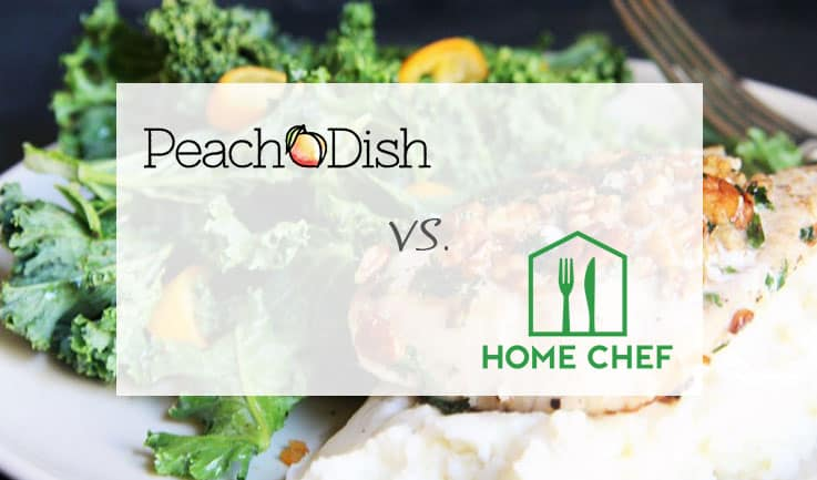 PeachDish versus Home Chef