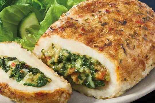 Artichoke & Spinach Stuffed Chicken Breast