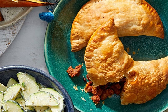 image of Buenos Aires Beef Empanadas Blue Apron meal