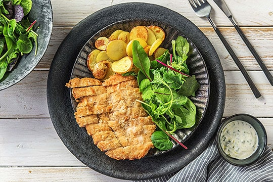 image of Chicken Milanese by Hello Fresh
