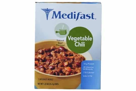 image of medifast package
