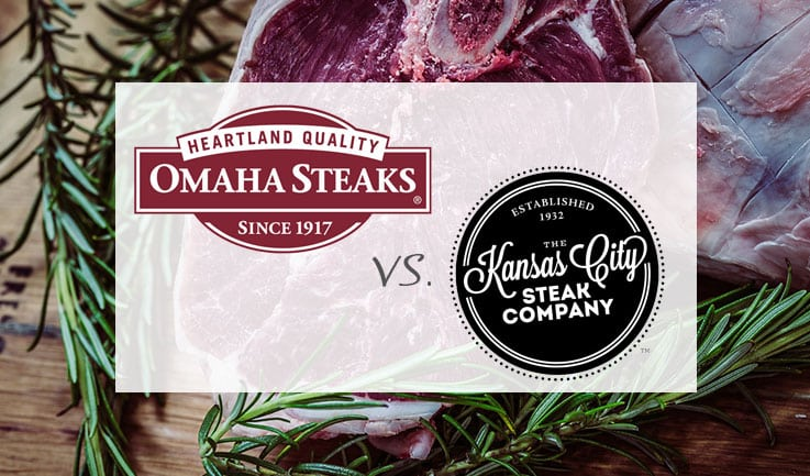 Comparison of Omaha Steaks and Kansas City Steak Company