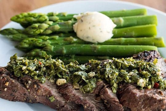 Factor 75 - Argentinian Beef Tenderloin recipe