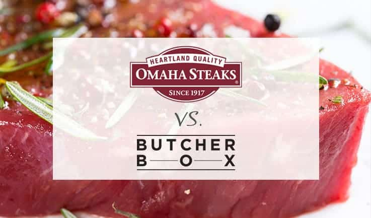 In-Depth Comparison of Omaha Steaks and Butcher Box