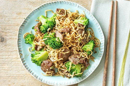 Rapid Stir-Fried Beef dinnerly recipe image