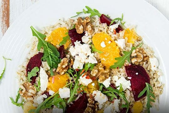 Rice With Oranges and Walnuts By Diet-To-Go