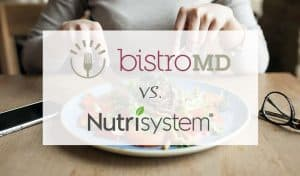 Ultimate Comparison of BistroMD Nutrisystem
