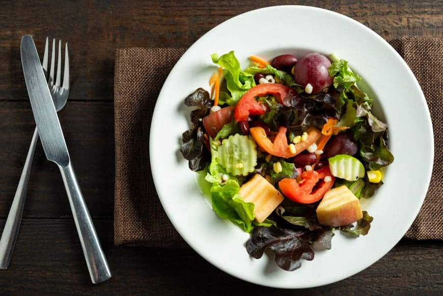 image of healthy organic lunch