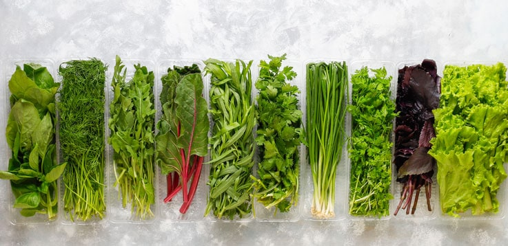 image of fresh greens