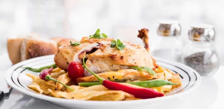 image of roasted chicken