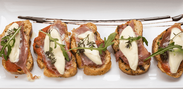 image of tasty bruschetta