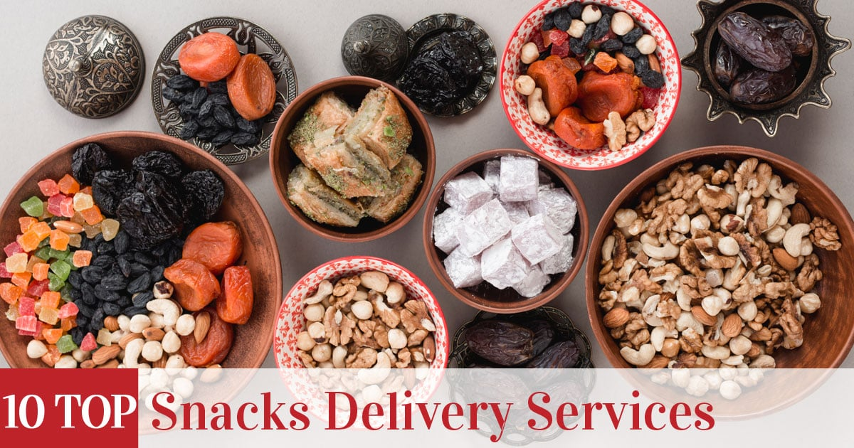Featured image of top rated Snacks Delivery Services