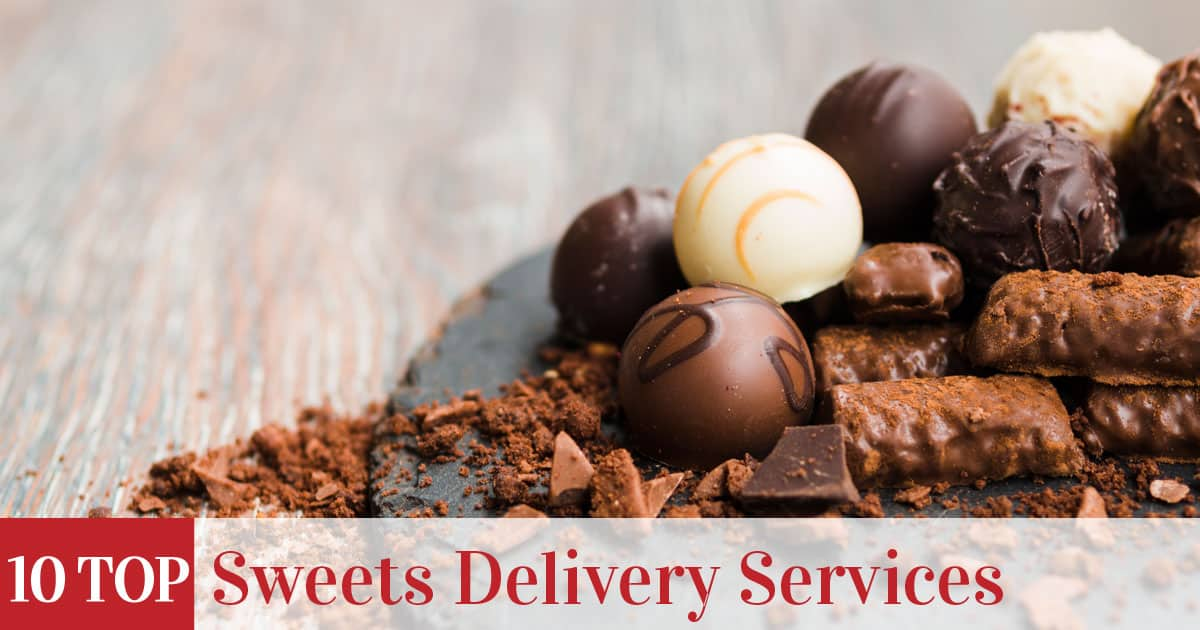 Featured image of top rated sweets delivery services
