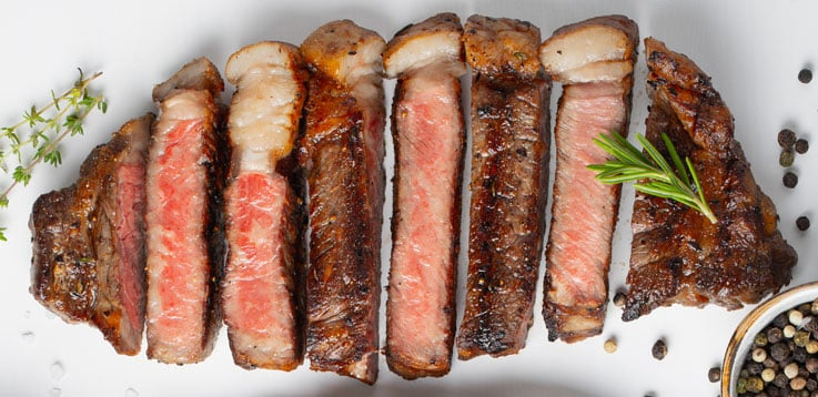 image of tasty grilled beef steak