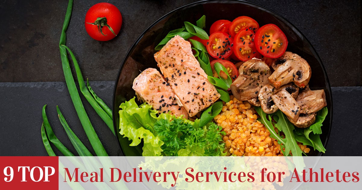 Featured image of top rated meal delivery services for athletes