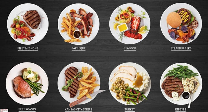 top meal categories image