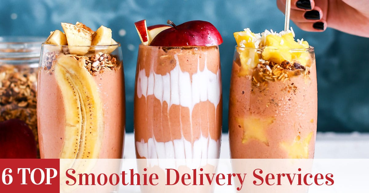 Featured image of top rated Smoothie Delivery Services