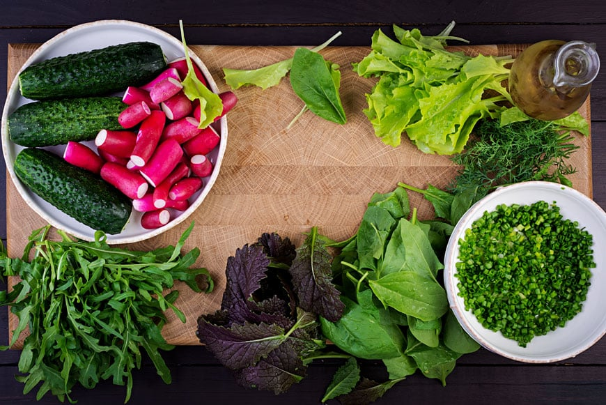 image of ingredients for salad