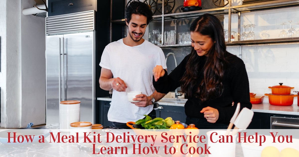 Featured image of cute couple learning how to cook
